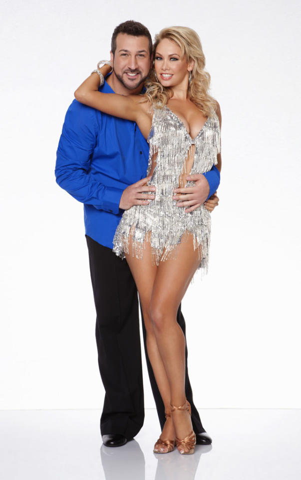 """Joey Fatone will be dancing with Kym Johnson this fall on ABC's """"Dancing With the Stars: All-Stars,"""" premiering September 24."""
