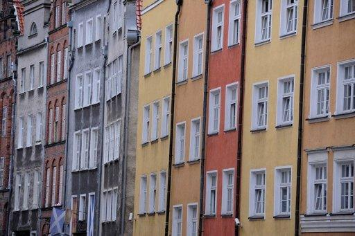 <p>File picture. Facades of different colours in an old street of Gdansk on June 12, 2012. Hosted along with Poland's neighbour Ukraine from June 8 to July 1, Euro 2012 marked the first excursion of the quadrennial tournament behind the former Iron Curtain.</p>