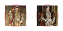 <p>For some reason, people distinctly remember this portrait showing the king of England wielding a turkey leg. To be clear, he was not. </p>