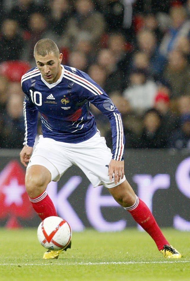 Benzema last played for France in 2015