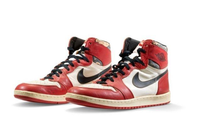 Air Jordan sneakers expected to set new record for sports shoe