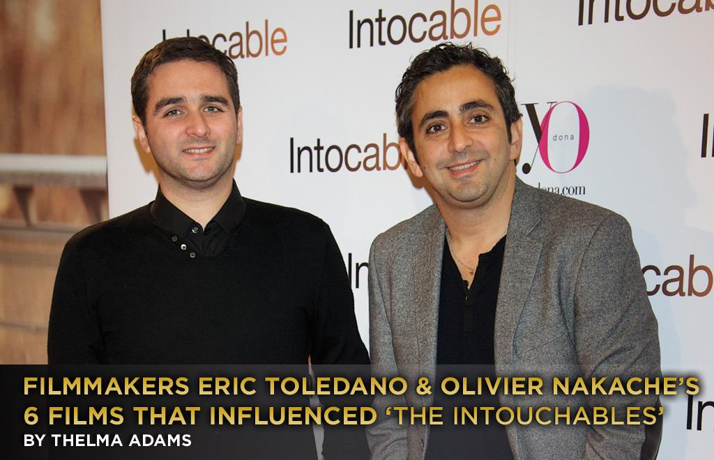 """The Intouchables"" writer-director team Eric Toledano and Olivier Nakache chose six classic American films that influenced their French bromance. The comedy stars Francois Cluzet and Omar Sy. While watching the movie, I had that nagging feeling that Cluzet reminded me of someone familiar. Speaking to Toledano and Nakache I discovered that wasn't a coincidence: He's the French Dustin Hoffman, and the creators have a fetish for that actor who's in three of their six favorites."