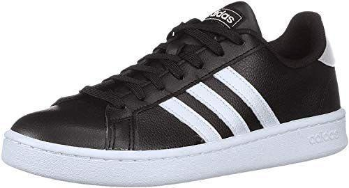 """<p><strong>adidas</strong></p><p>amazon.com</p><p><strong>$93.00</strong></p><p><a href=""""https://www.amazon.com/dp/B07D9KXY3Z?tag=syn-yahoo-20&ascsubtag=%5Bartid%7C2140.g.36063460%5Bsrc%7Cyahoo-us"""" rel=""""nofollow noopener"""" target=""""_blank"""" data-ylk=""""slk:Shop Now"""" class=""""link rapid-noclick-resp"""">Shop Now</a></p><p>One of the most classic, recognizable shoes of all time, there's a reason people love these tennis shoes. The cloudfoam sockliner adds lightweight cushion that makes these equally comfortable on the tennis court and treadmill.</p>"""