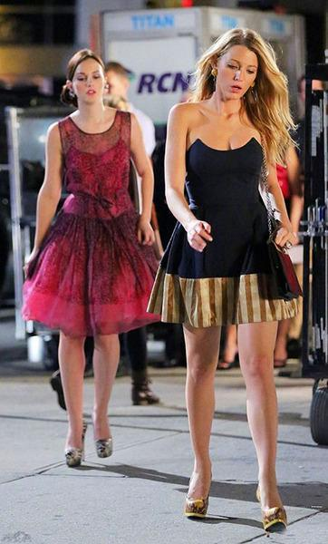 """<b>Apparently, you only count as a powerful person if you wear high heels.</b> """"Upper East Side Queens aren't born at the top. They climb their way up in heels, no matter who they have to tread on to do it."""" – Blair."""
