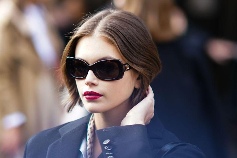 """<p>Kaia Gerber made her catwalk debut at the tender age of 16, walking for the likes of Saint Laurent, Fendi, Miu Miu, Prada, Moschino and Alexander Wang to name but a few.</p><p>Since then, the famous offspring has become one of the biggest names in the game, with the street style kudos to match.</p><p>Dubbed the <a href=""""http://www.elleuk.com/fashion/celebrity-style/news/a39592/who-is-kaia-gerber-cindy-crawford-daughter/"""" rel=""""nofollow noopener"""" target=""""_blank"""" data-ylk=""""slk:'baby supermodel' to watch"""" class=""""link rapid-noclick-resp"""">'baby supermodel' to watch</a> by fashion editors, we take a look into the teenager's most chic and high-octane glamorous outfits:</p>"""