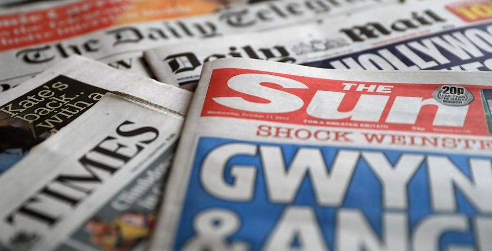 What the papers say – October 2 (PA) (PA Archive)
