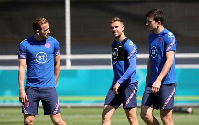 Jordan Henderson and Harry Maguire have been pushing to return to full fitness