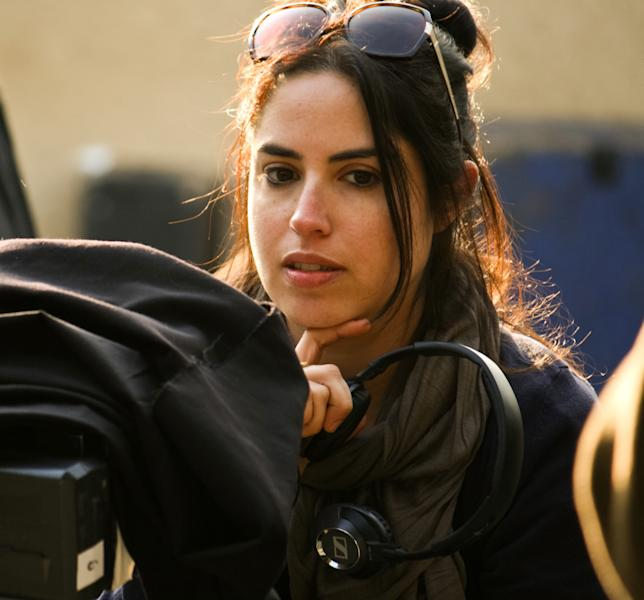 "This image released by the Tribeca Film Festival shows Talya Lavie, director of the film, ""Zero Motivation."" The film, about young female soldiers at a remote desert base in Israel, won best narrative feature at the Tribeca Film Festival in New York on Thursday, April 24, 2014. (AP Photo/Tribeca Film Festival)"