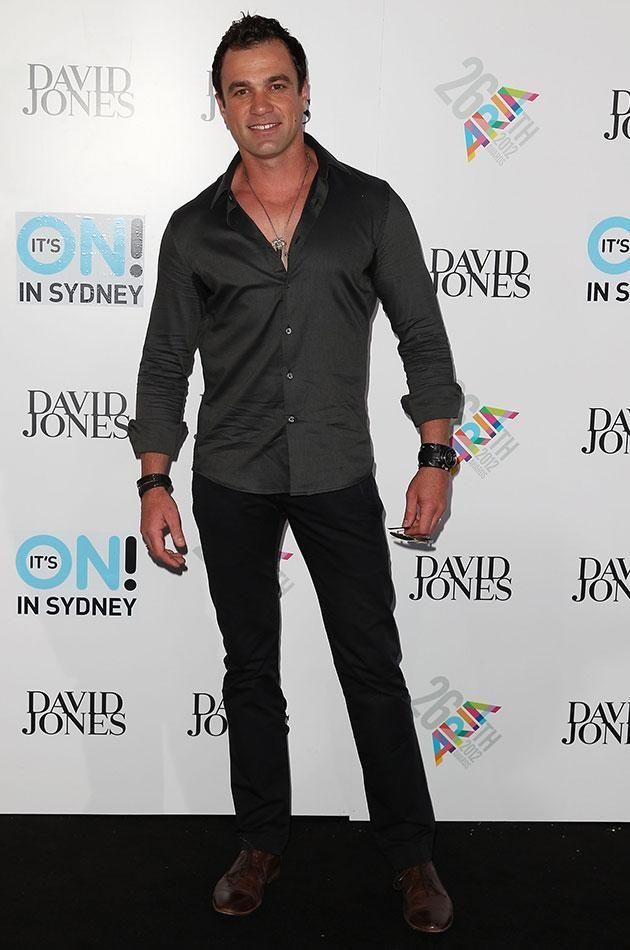 Shannon Noll was arrested outside an Adelaide strip club earlier this month. Source: Getty