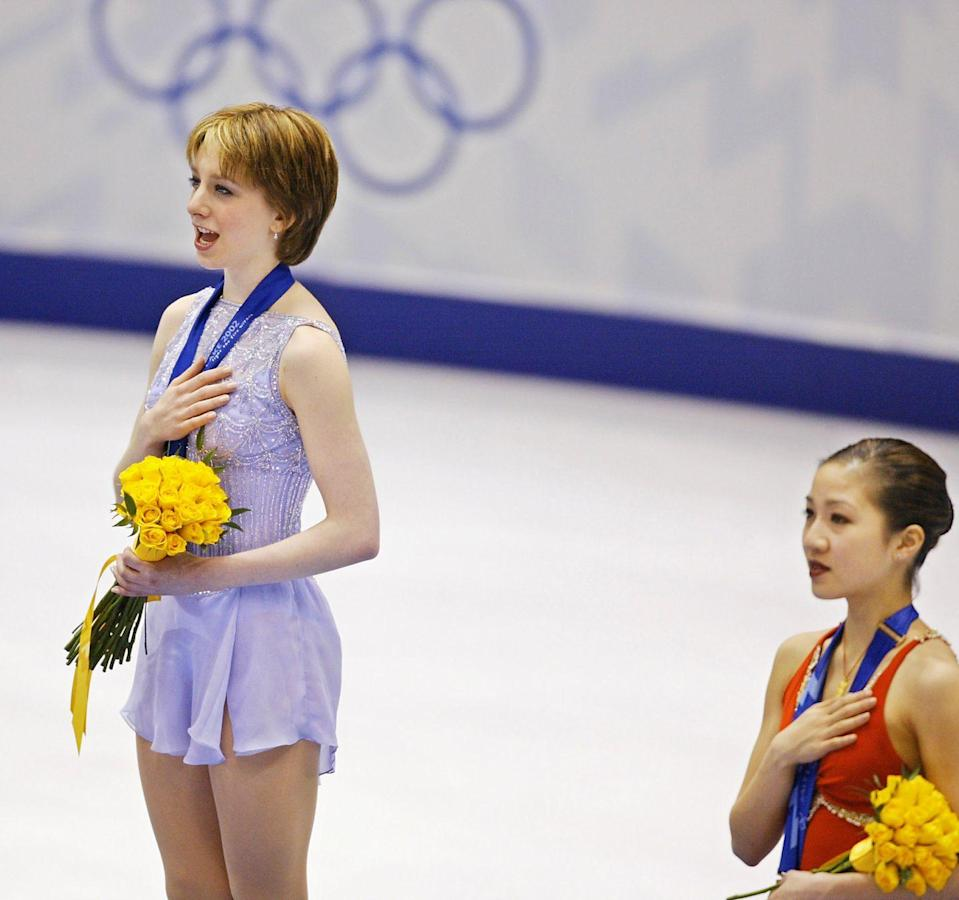 <p>Michelle Kwan was figuring skating's darling during the late '90s and the Salt Lake City games in 2002 were her last chance at a gold medal. That's why the world was shocked when Kwan, who'd placed first in the short program, ended up with a bronze medal while Sarah Hughes, who placed fourth in the short, won the gold. </p>