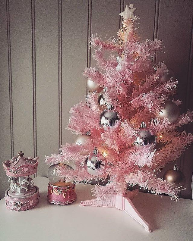 We Are Obsessed With Pink Christmas Trees