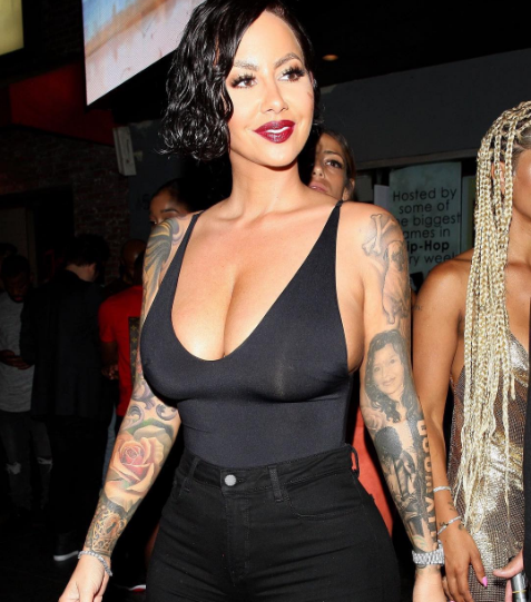 Amber Rose asks her Instagram followers for advice on