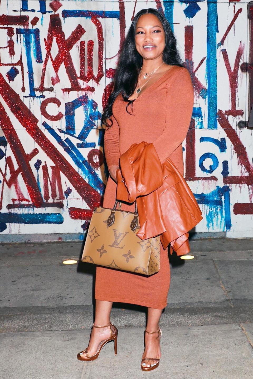 <p><em>Real Housewives of Beverly Hills</em> star Garcelle Beauvais arrives for an early dinner at Craig's on June 9 in West Hollywood.</p>