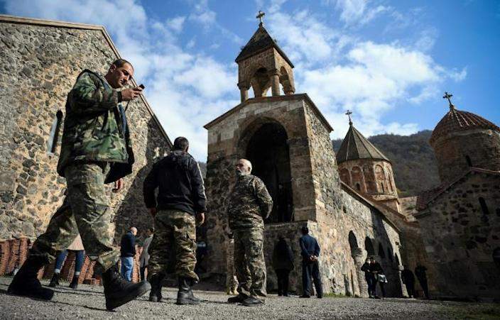 The Dadivank Monastery is due to be returned to Azerbaijan on Sunday
