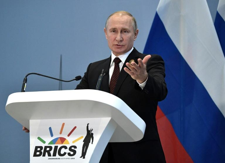 Russia is hoping to reassert its influence in Africa (AFP Photo/Alexey NIKOLSKY)