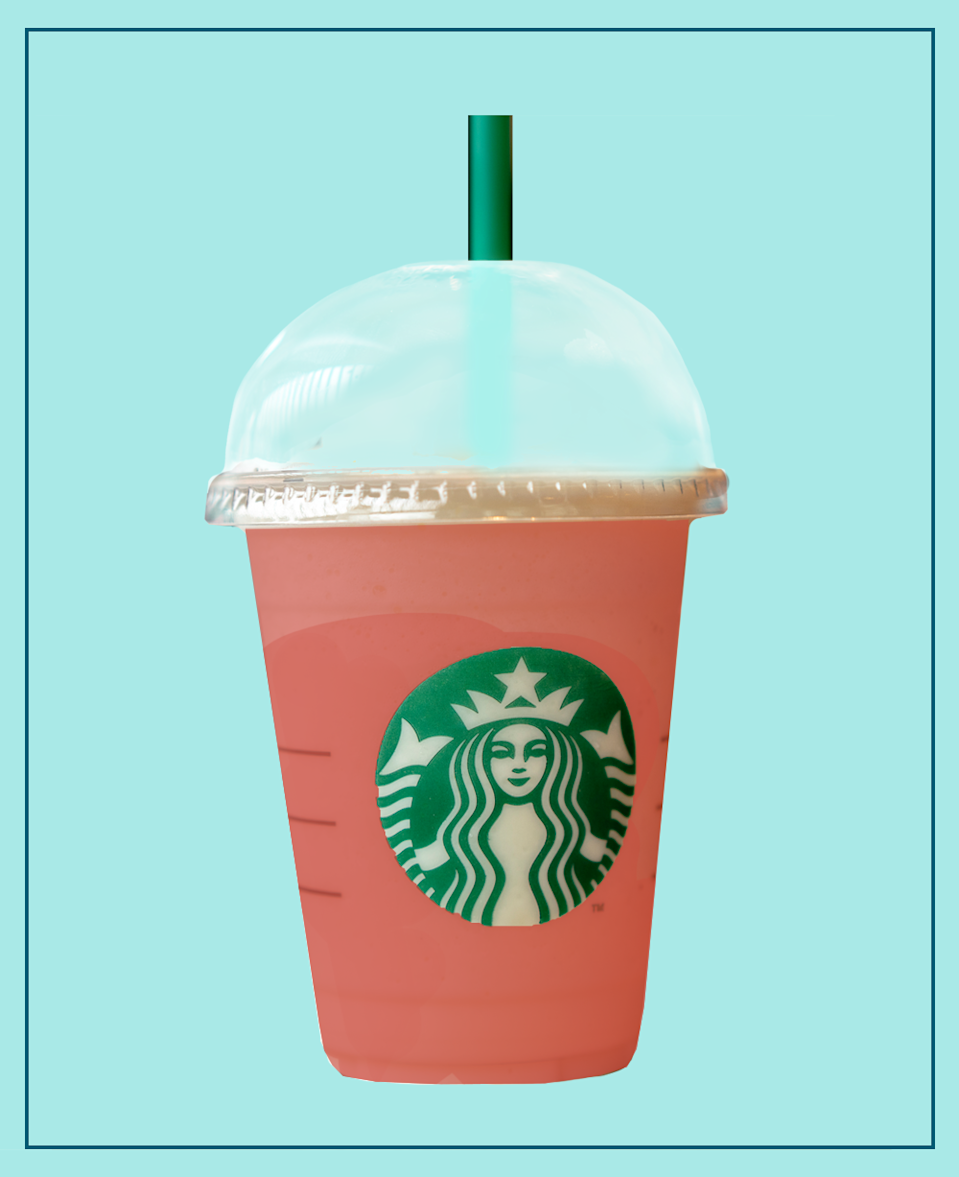 <p>This drink has been doing the rounds on social media, and it's no wonder! Practically the definition of summer, it's deliciously sweet and a gorgeous pink in colour. </p><p><strong>What should I ask for? </strong>Iced Youthberry Tea with Strawberry Sauce and Lemonade.</p>