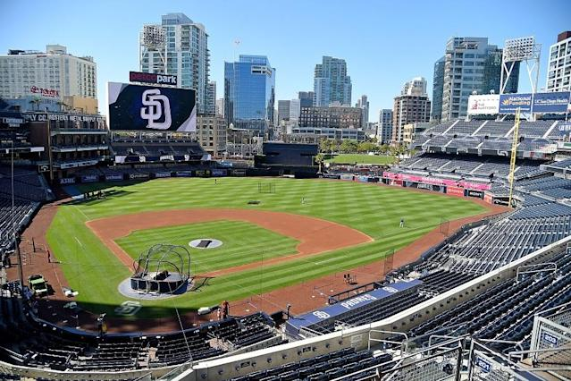 A Padres fan made his second chance count Friday night at Petco Park. (Getty Images)