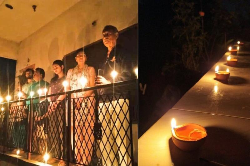 'This is Hope': Indians Take to Twitter to Show Off Their Diyas For #9pm9minutes Solidarity