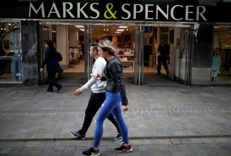 M&S profits dive by almost two-thirds as clothing sales slide