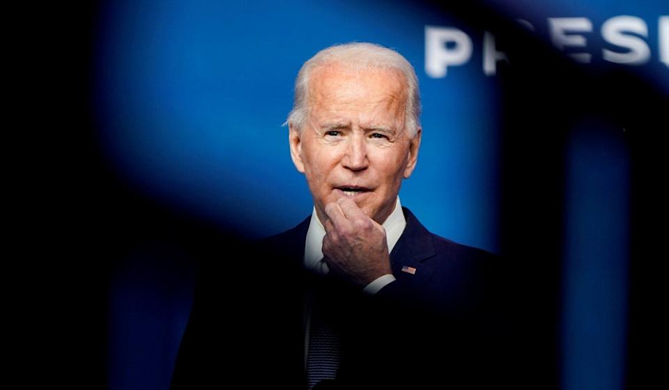 Joe Biden is expected to seek EU backing in the US-China rivalry. Photo: Reuters