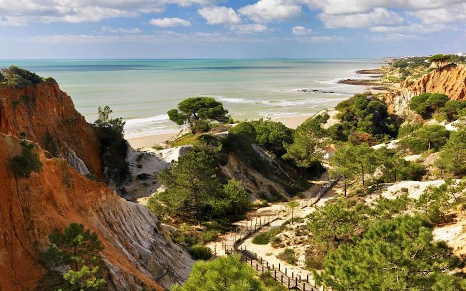 Pine Cliffs Resort - one of the best beach hotels in Portugal