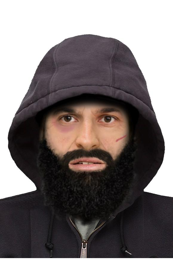 A computer generated picture of the man was released by police. Source: Victoria Police
