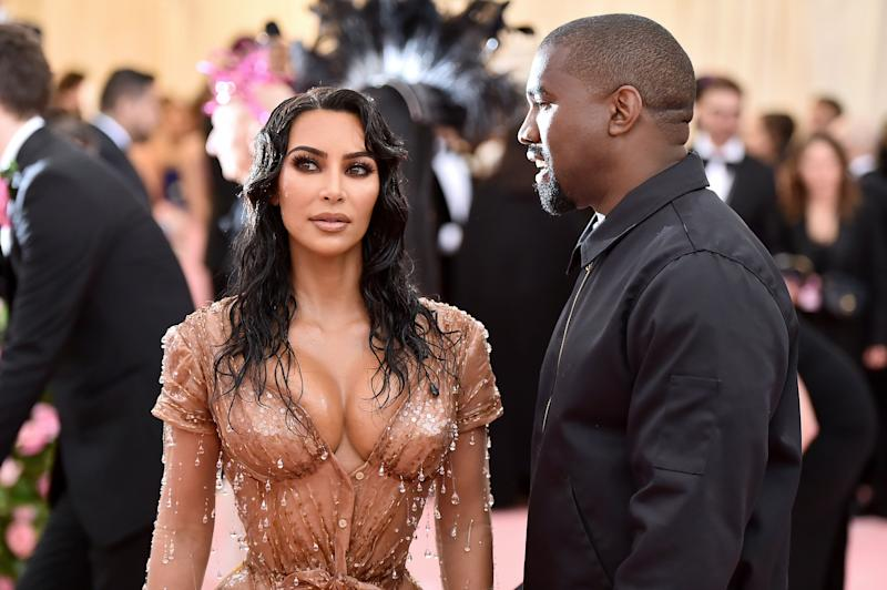 Kardashian and West attend the 2019 Met Gala Celebrating Camp: Notes on Fashion at the Metropolitan Museum of Art on May 6 in New York City. (Photo: Theo Wargo via Getty Images)