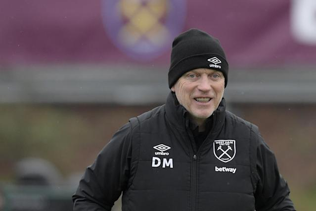 David Moyes happy to welcome back West Ham duo ahead of Southampton clash