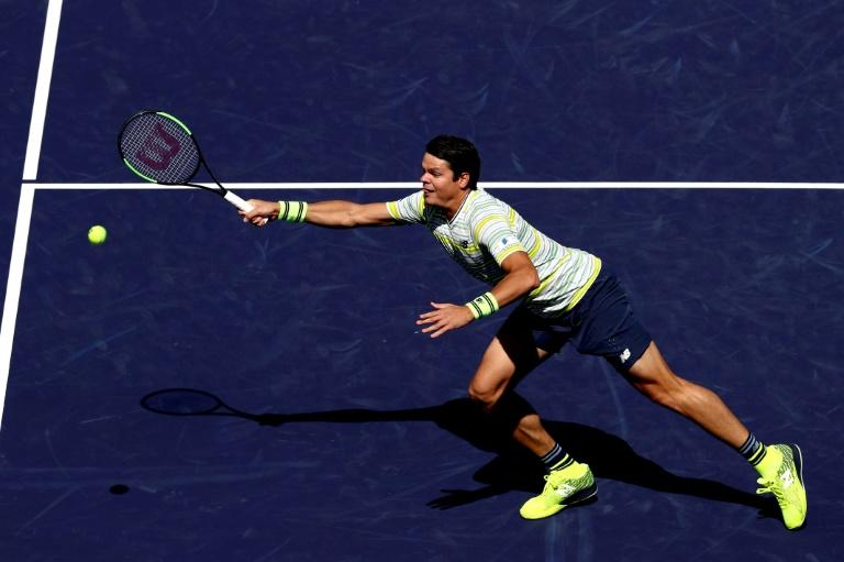 Milos Roanic defeated Sam Querrey 7-5, 2-6, 6-3 to pick up just his fourth match win of the season and is seeking to capture his ninth career ATP Tour title