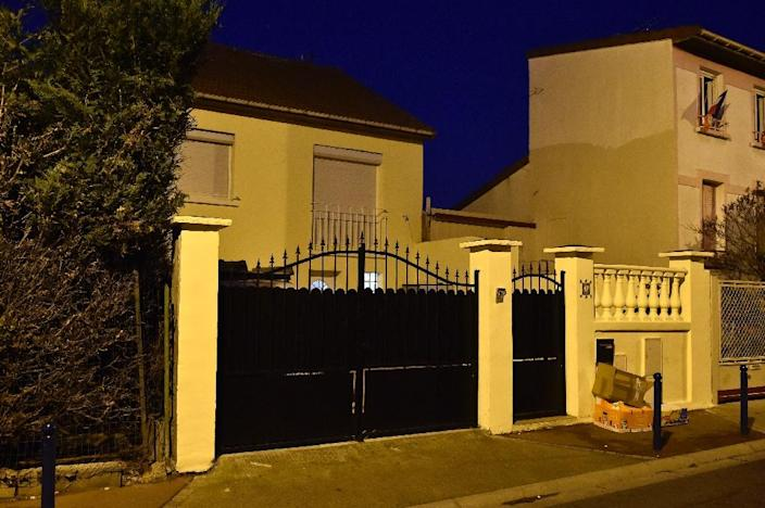 A picture taken on December 29, 2015 shows the house of the family of Charaffe al Mouadan in Drancy, a Paris suburb (AFP Photo/Alain Jocard)
