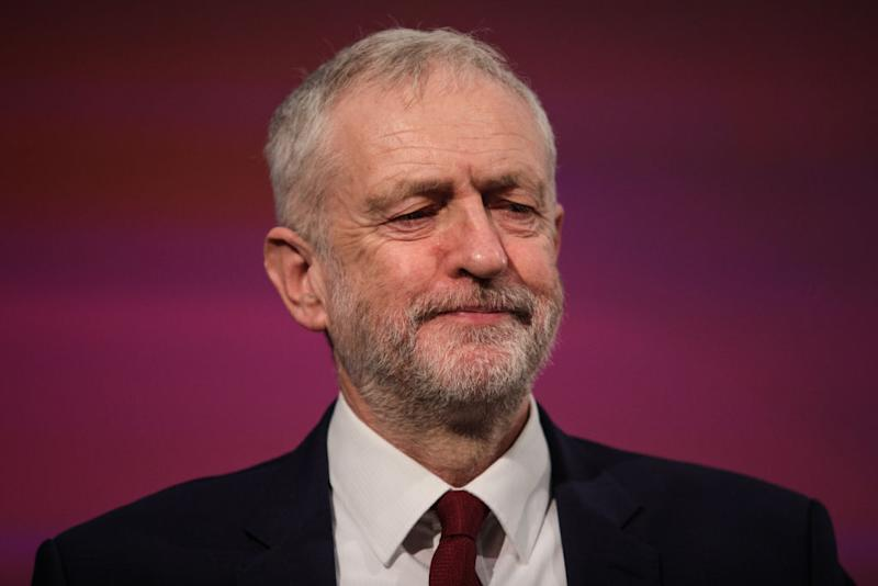 Jeremy Corbyn has come under increasing pressure to resign after the Copeland by-election: Getty