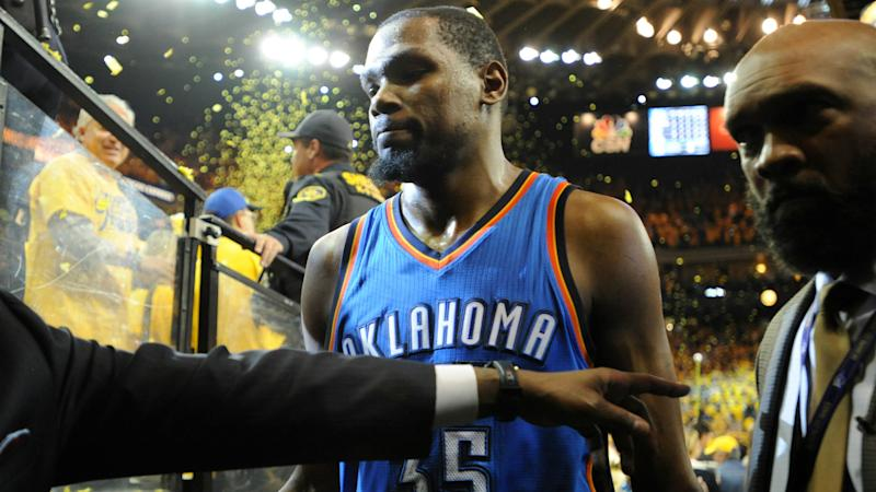885b1de17389 Thunder GM Sam Presti calls on fans to honor Kevin Durant after ...