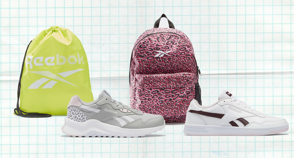 The Reebok Back to School Sale has just been extended.