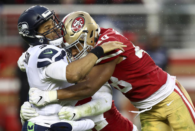 One bettor was hit hard when the San Francisco 49ers broke a losing streak against the Seattle Seahawks. (AP)