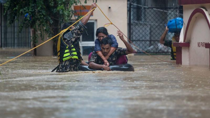 Nepal Floods: 78 Dead, 32 Still Missing, Over 3366 People Rescued From 31 Affected Districts