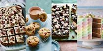 """<p><a href=""""https://www.goodhousekeeping.com/uk/food/g538612/15-of-the-best-easter-recipes/"""" rel=""""nofollow noopener"""" target=""""_blank"""" data-ylk=""""slk:Easter"""" class=""""link rapid-noclick-resp"""">Easter</a> means hot cross buns, family dinners and gorgeous legs of lamb. But it also means Easter cakes and desserts fit for the spring season. </p><p>Here are our favourites...</p>"""