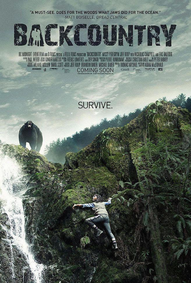 <p>A wilderness survival tale where the terror walks on four legs and is a bear. </p>