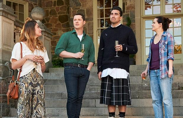 Dan Levy Says All This Late, Virtual Emmys Love Is 'On-Brand' for 'Schitt's Creek'