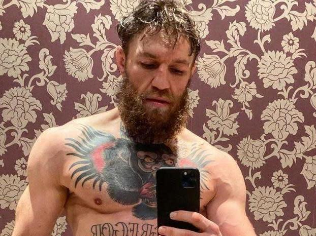 Conor McGregor will make his return to the UFC against Donald Cerrone: Instagram/thenotoriousmma