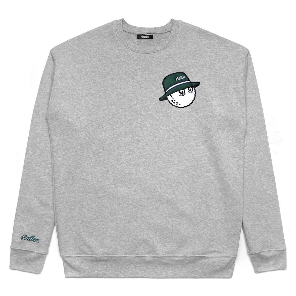"<p><strong>Cooper Fleece Crewneck</strong></p><p>malbongolf.com</p><p><strong>$120.00</strong></p><p><a href=""https://malbongolf.com/collections/all/products/cooper-fleece-crewneck-heather-grey-green"" rel=""nofollow noopener"" target=""_blank"" data-ylk=""slk:Shop Now"" class=""link rapid-noclick-resp"">Shop Now</a></p><p>Malbon is one of the hottest new brands in golf, offering streetwear-inspired looks that are helping push the game's aesthetic forward. This crewneck pairs nicely with that tightly rolled joint you stuck in your golf bag. </p>"