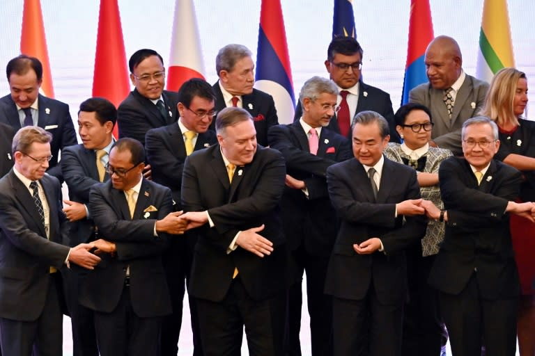 US Secretary of State Mike Pompeo attended a regional summit earlier this month with the 10-country Association of Southeast Asian Nations (ASEAN) in a bid to promote the Trump administration's so-called 'Indo-Pacific' strategy (AFP Photo/Romeo GACAD)