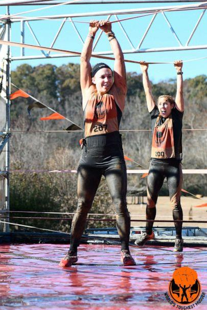 PHOTO: Kristen Reed at the World's Toughest Mudder competition. (Tough Mudder )