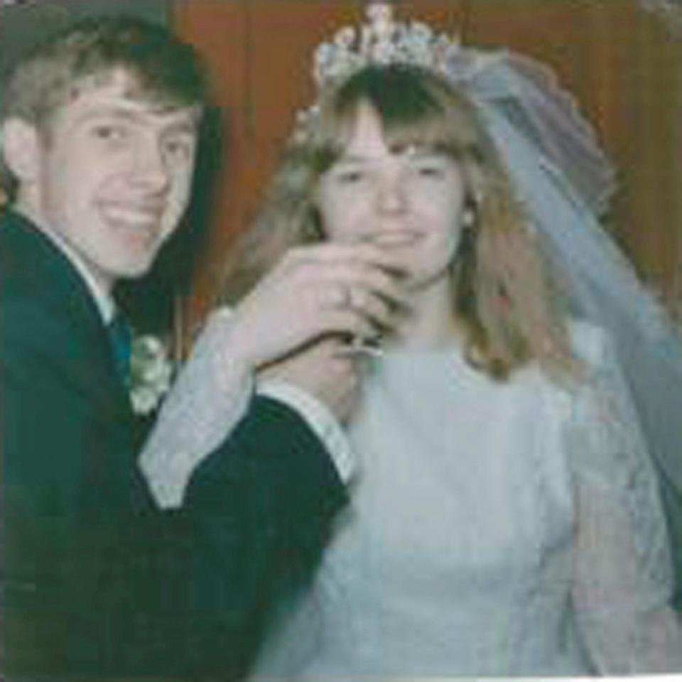 Mr Sheppard married his first wife Margaret in 1966 (Picture: SWNS)
