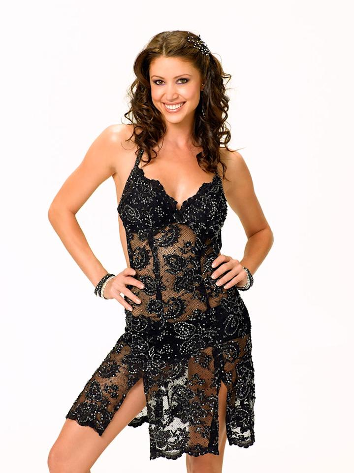 Actress/model Shannon Elizabeth partners with professional dancer Derek Hough for Season 6 of Dancing with the Stars.