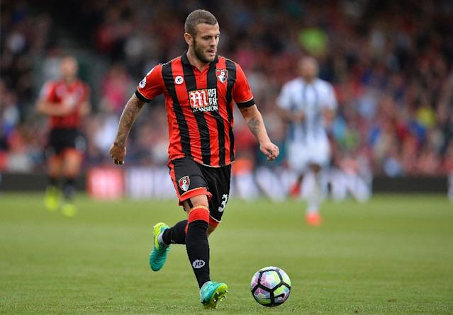 Arsene Wenger sent Wilshere on loan to Bournemouth earlier this season in a bid to give the midfielder a chance to prove his fitness and form after several seasons of injury problems (AFP Photo/GLYN KIRK )