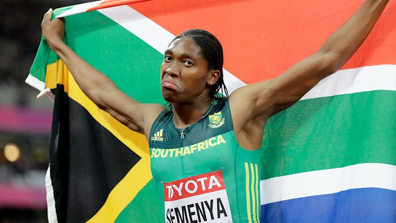 Pictured here, Caster Semenya says she will refuse the drug treatment required for her to be able to compete.