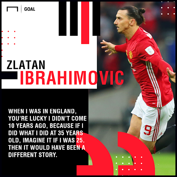 The enigmatic Swedish striker enjoyed a memorable 2016-17 campaign with Manchester United and believes his efforts helped to silence any doubters