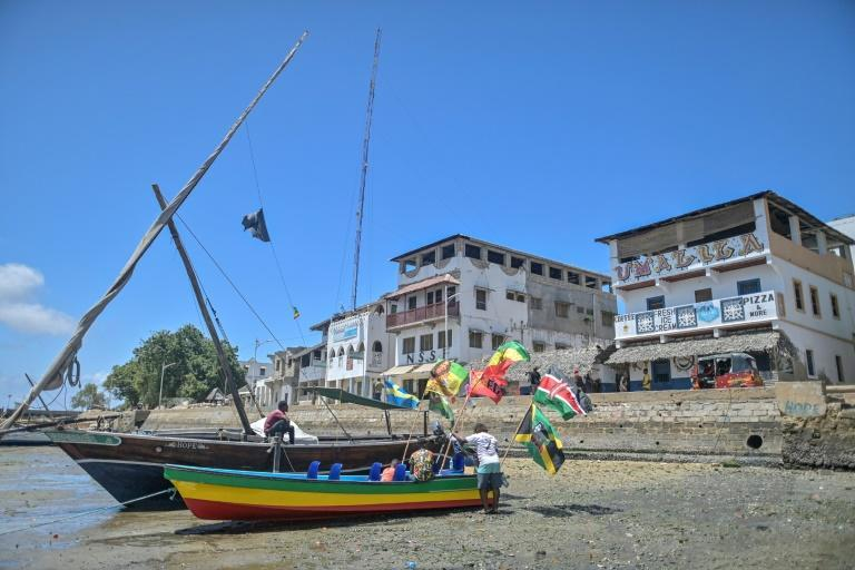Motorbike taxi drivers in the historic town of Lamu are not happy about being seen as a menace