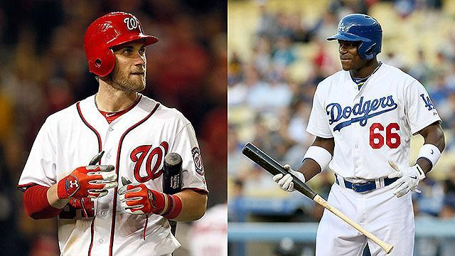 Bryce Harper or Yasiel Puig: Which player would you rather have on your team?