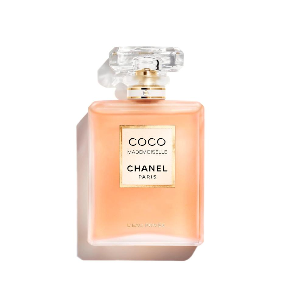 """<p>Coco Mademoiselle is a universal crowd-pleaser. However, if it feels a little to light for your fall-fragrance liking, its Eau Pour la Nuit spinoff is an ideal shift. Made for nighttime wear, it's just as suitable for daytime spritzing during cooler months thanks to white musk richly fortifying jasmine and rose.</p> <p><strong>$125 for 3.4 ounces</strong> (<a href=""""https://shop-links.co/1716343796464192849"""" rel=""""nofollow noopener"""" target=""""_blank"""" data-ylk=""""slk:Shop Now"""" class=""""link rapid-noclick-resp"""">Shop Now</a>)</p>"""